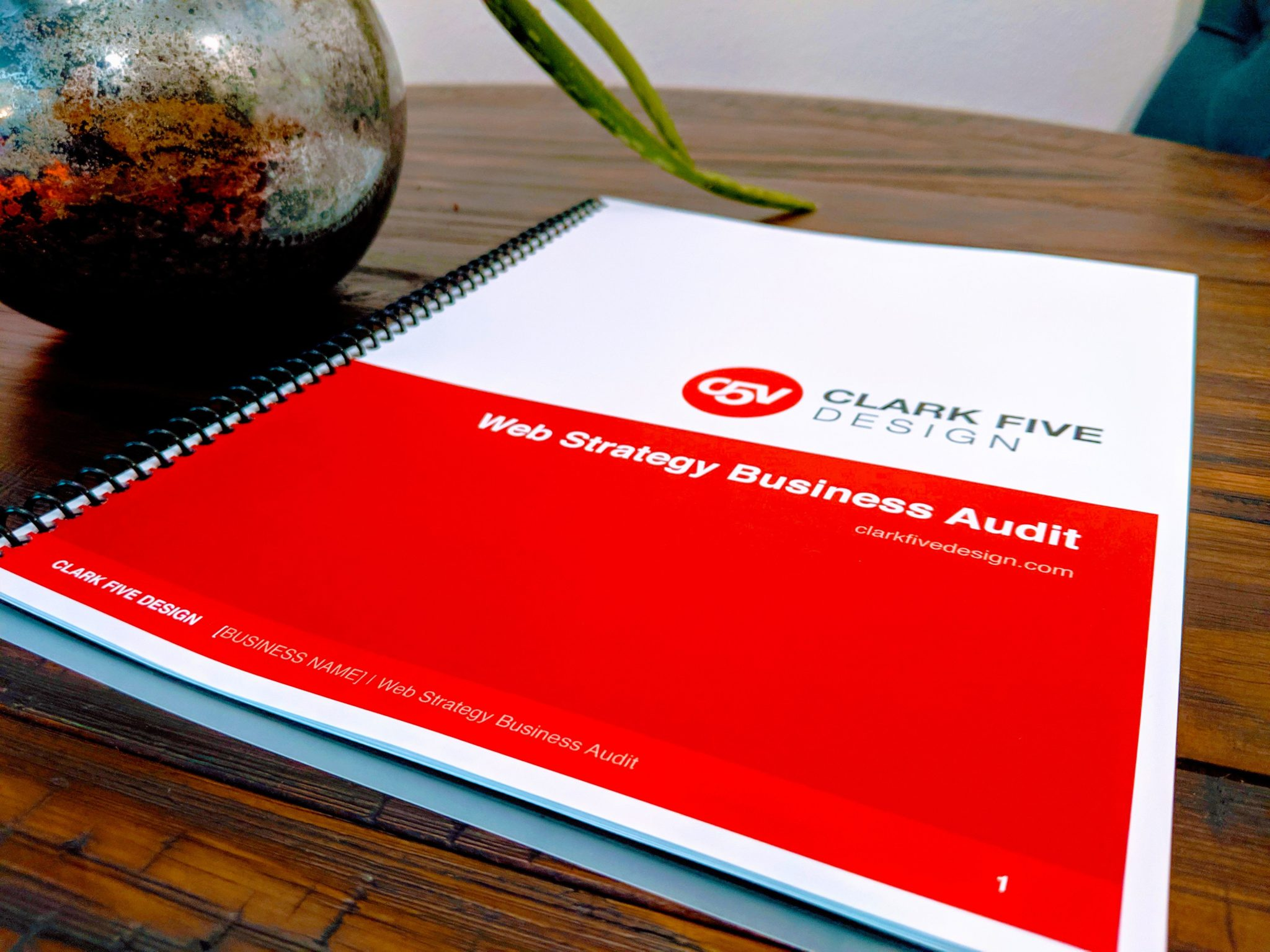 Clark Five Design, Free Web Strategy & Audit for your small business