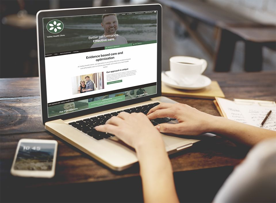 Valley Health Website Design