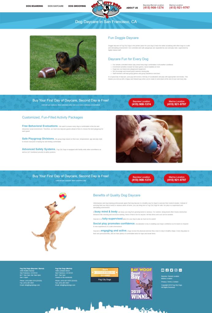 pro website example