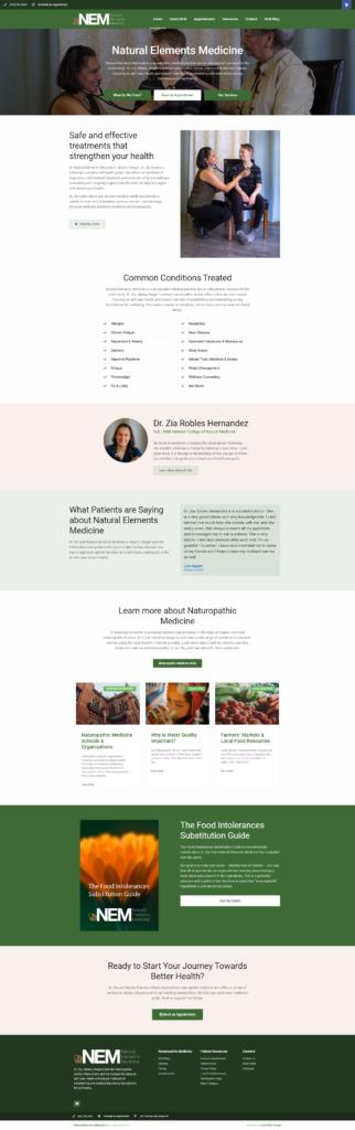 medical pro created website