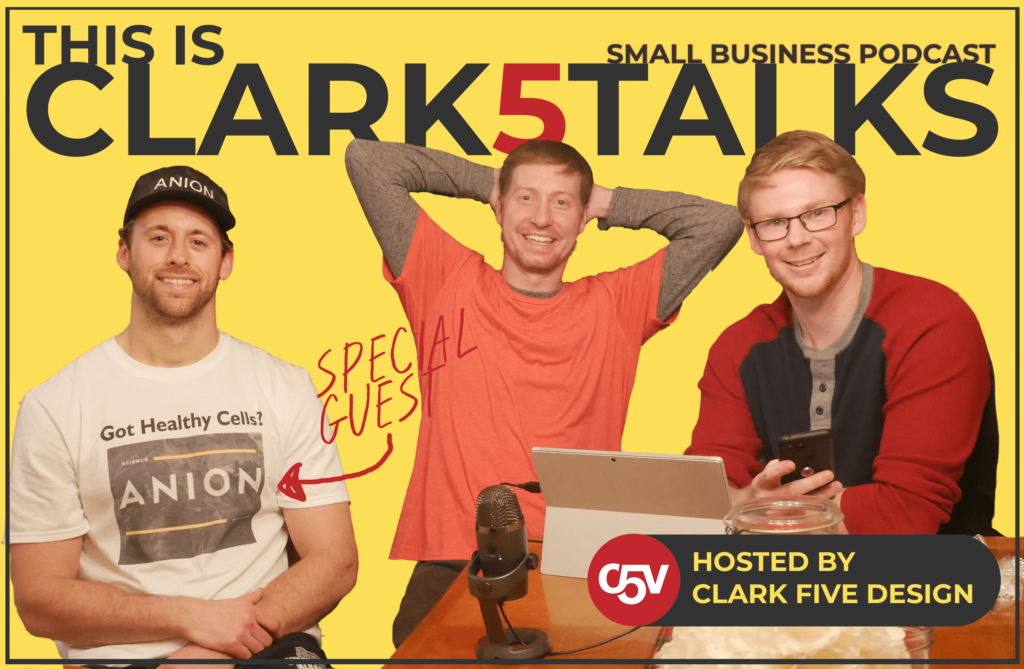 clark five talks podcast episode 1 cover image