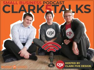 clark five talks podcast episode 2 cover image