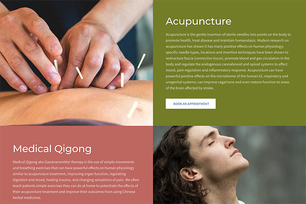 Clark Five Design, Turnkey Digital Solutions for Acupuncture & Wellness Clinics